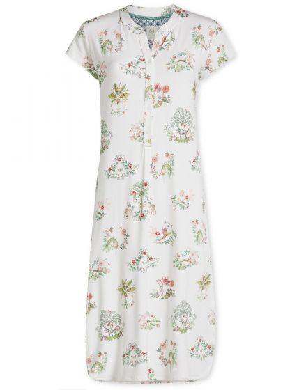 Nightdress short sleeve Boasin White