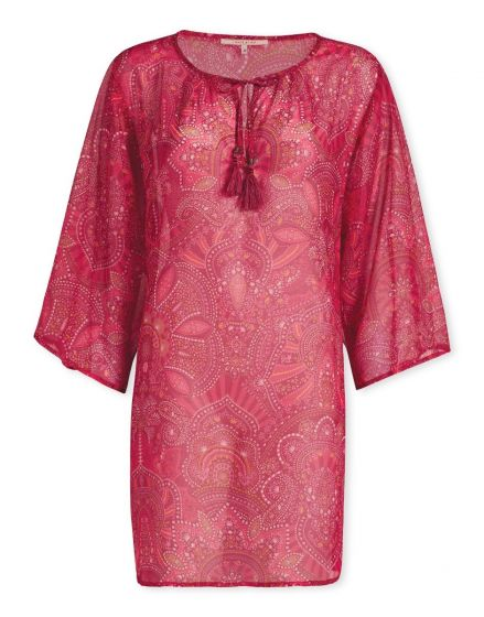Tunic Sunrise Large Red