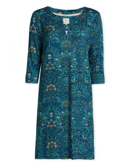 Nightdress 3/4 sleeve Sunrise Blue