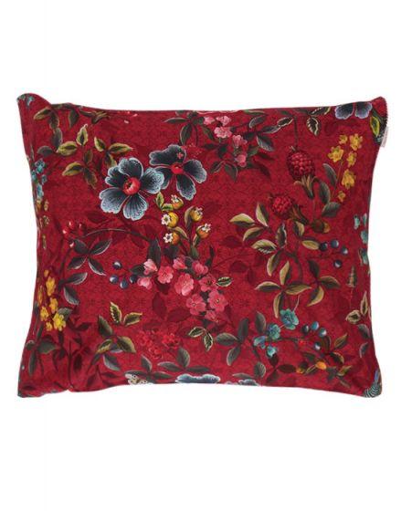 Kissenbezug Floral Delight Rot