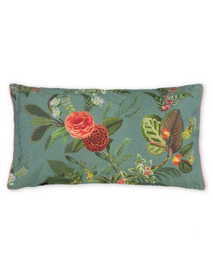 Cushion rectangle Floris Blue
