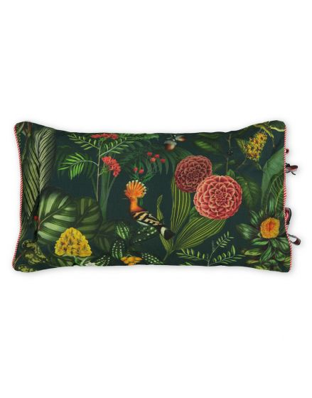 Cushion rectangle Forest Foliage Green