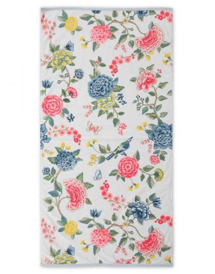 XL Bath towel Good Evening White 70x140 cm