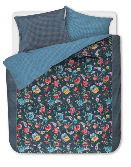 Duvet cover Good Night Dark blue
