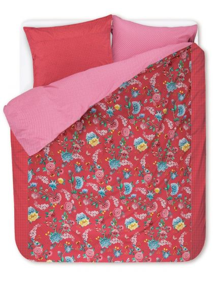 Duvet cover Good Night Red