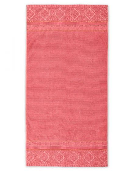 XL Bath towel Soft Zellige Coral 70x140 cm