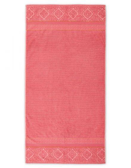 Douchelaken Soft Zellige Koraal 70x140 cm