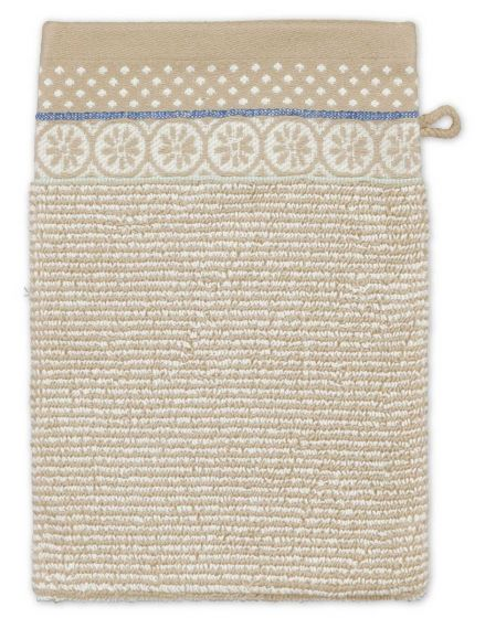 Wash cloth Soft Zellige Khaki 16x22 cm
