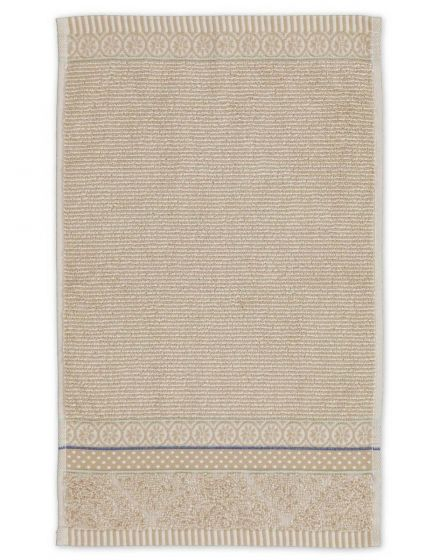 Gästehandtuch Soft Zellige Khaki 30x50 cm