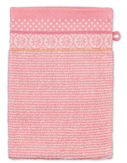 Washandje Soft Zellige Roze 16x22 cm