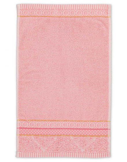 Guest towel Soft Zellige Pink 30x50 cm