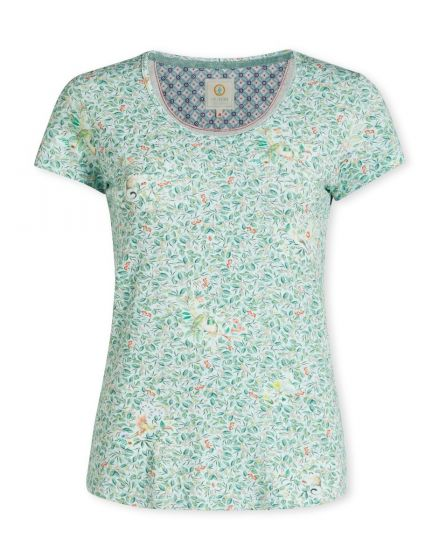 Top short sleeve Yves Green