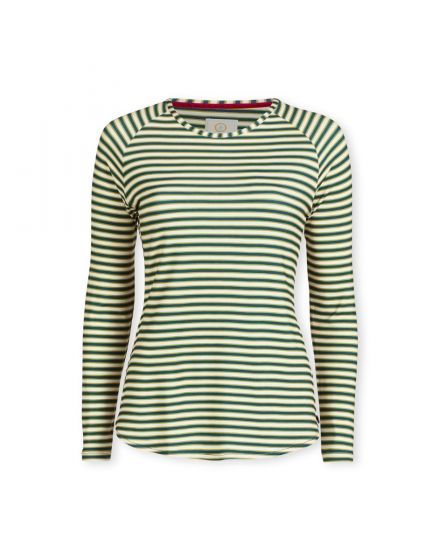 Top Long Sleeve Sleepy Stripe Blue