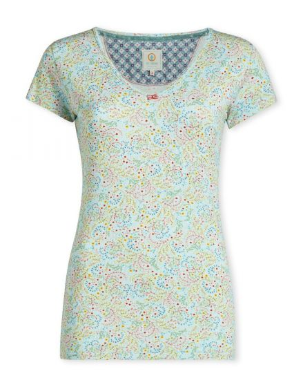 Top short sleeve Beldi Blue