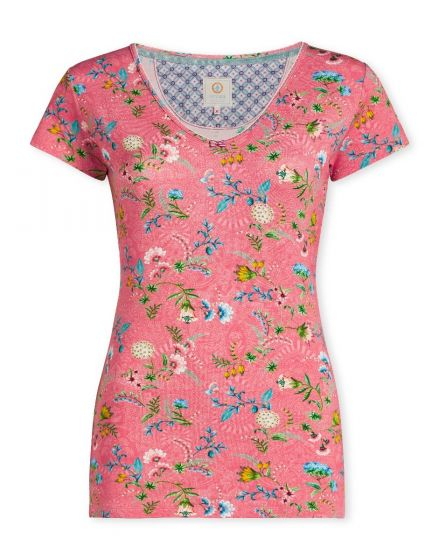 Top short sleeve La Majorelle Pink