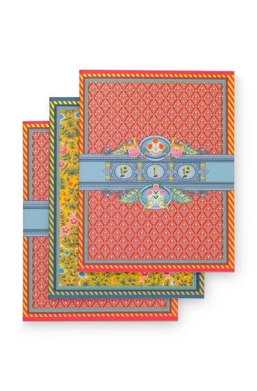Schriften A5 Pakket set van 3 - Indian Festival