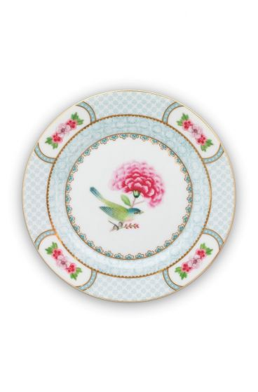 Blushing Birds Pastry Plate white 17 cm