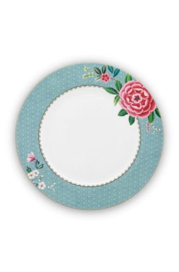 Blushing Birds Dinner Plate blue 26.5 cm