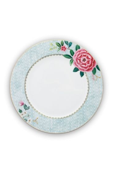 Blushing Birds dinerbord wit 26,5 cm