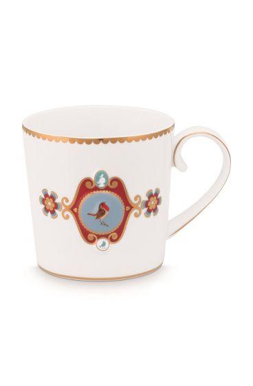 Mug-small-150-ml-white-gold-details-love-birds-pip-studio