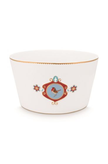 bowl-20-cm-white-golden-details-love-birds-pip-studio