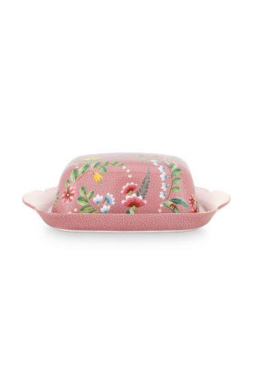Butter-dish-20x14x6,5-cm-pink-gold-details-la-majorelle-pip-studio