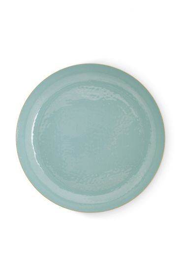 metal-tray-enamelled-blue-gold-blushing-birds-pip-studio-40-cm