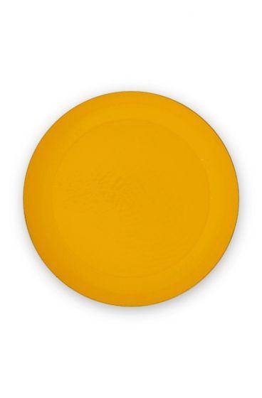 metal-tray-enamelled-yellow-gold-blushing-birds-pip-studio-50-cm