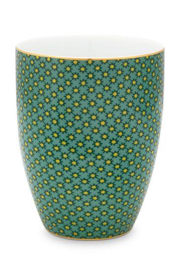 Badezimmer-accesoires-trinkbecher-grün-twinkle-star-pip-studio-300-ml