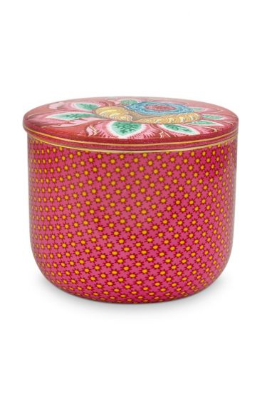 Badezimmer-accesoires-cotton-ball-jar-rosa-twinkle-star-pip-studio-27x12x1,5
