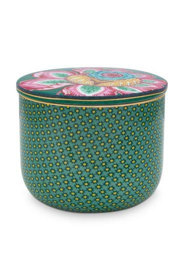 Cotton Ball Jar Twinkle Star Green