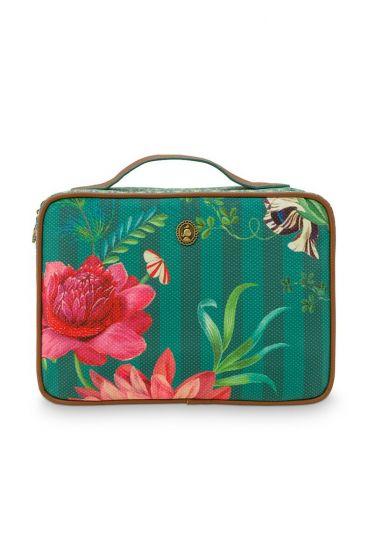 beauty-case-square-large-fleur-grandeur-green-27x19x10-cm-nylon/satin-1/12-pip-studio-51.274.134