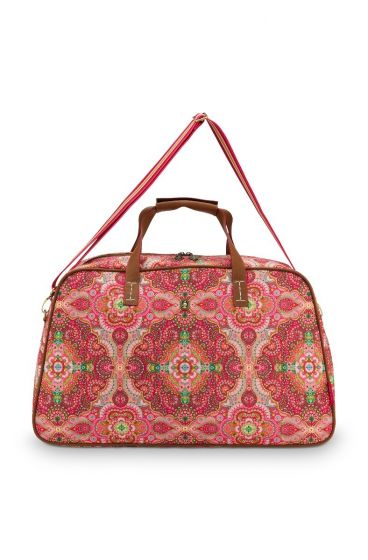 weekend-bag-moon-delight-medium-in-red-with-flower-design