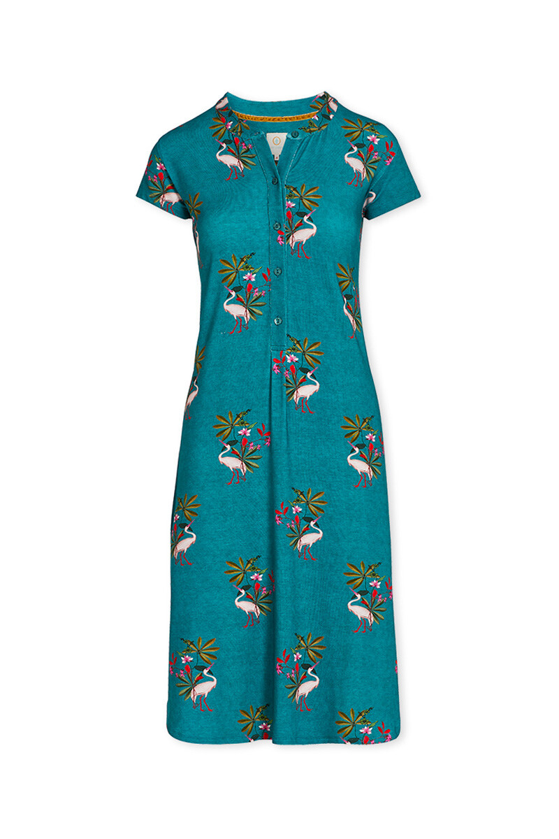 Color Relation Product Nightdress My Heron Green