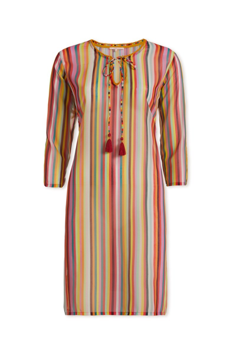 Color Relation Product Tunic Jambo Rainbow Stripe Multi