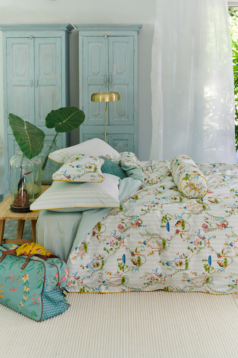 Color Relation Product Duvet Cover Singerie White