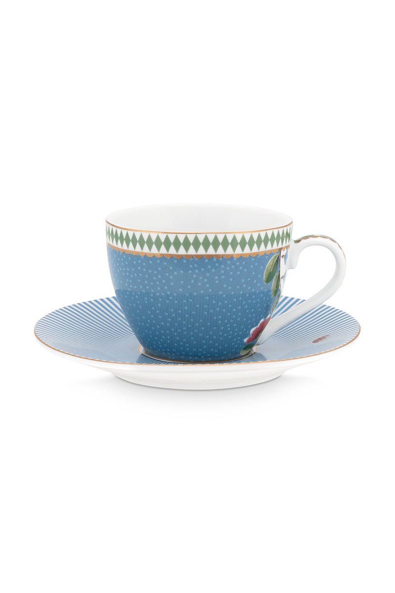 Color Relation Product La Majorelle Espresso Cup & Saucer Blue