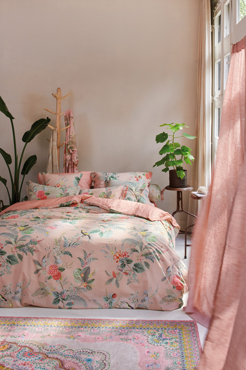 Color Relation Product Duvet cover Floris Pink