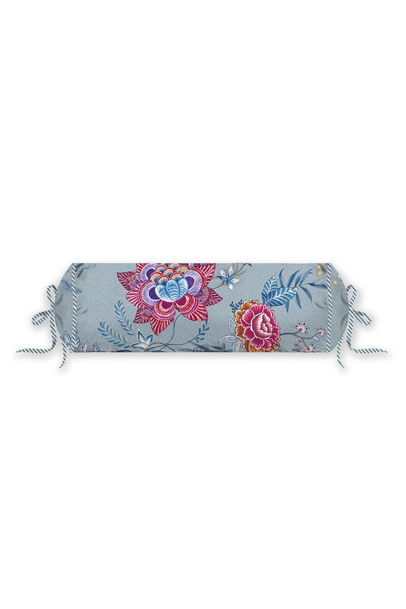 Color Relation Product Neck Roll Flower Festival Blue