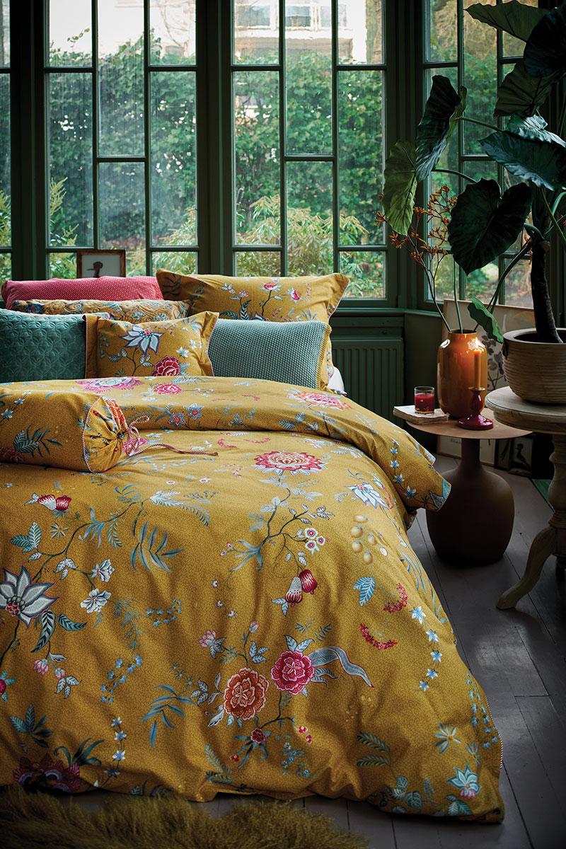 Color Relation Product Duvet Cover Flower Festival Yellow