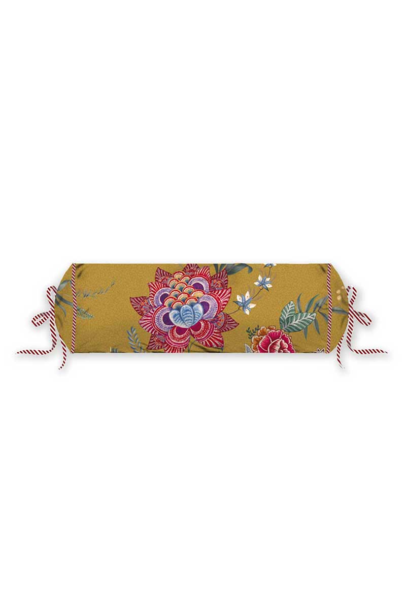 Color Relation Product Neck Roll Flower Festival Yellow