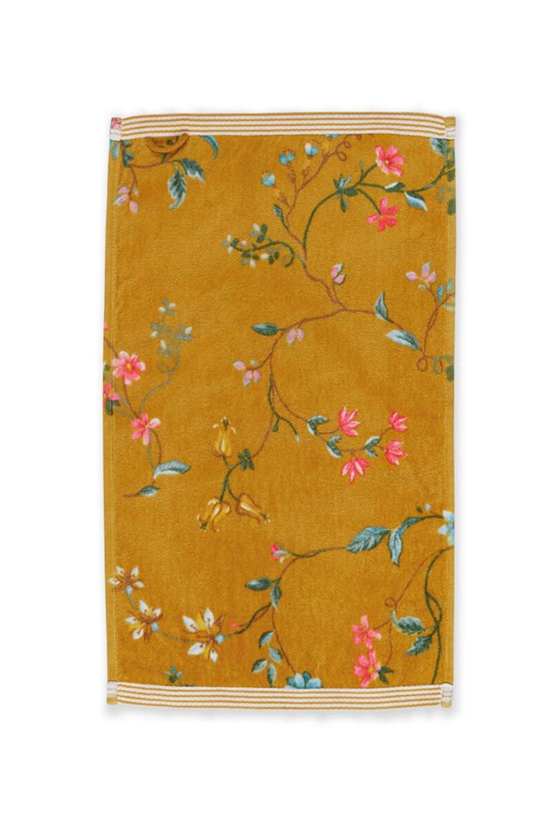 Color Relation Product Gastendoek Les Fleurs Geel 30x50 cm