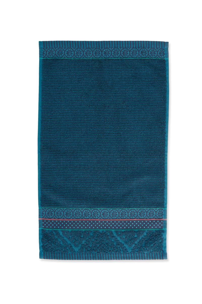 Color Relation Product Gastendoek Soft Zellige Donkerblauw 30x50 cm