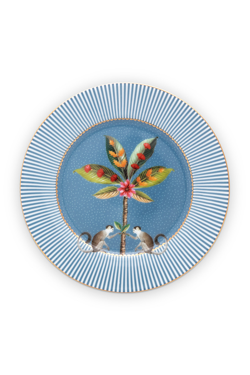 Color Relation Product La Majorelle Pastry Plate Blue 17 cm