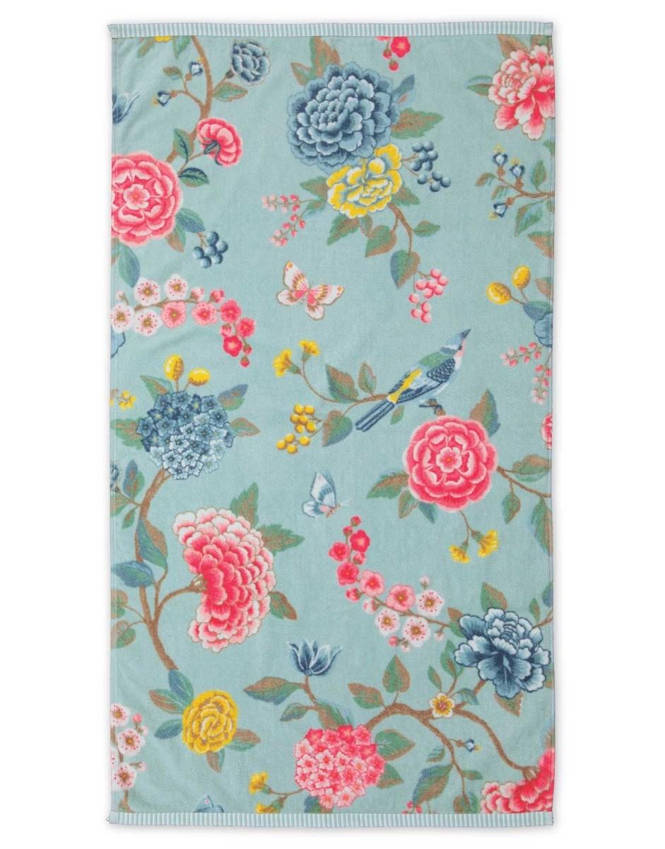 Color Relation Product Bath towel Good Evening Blue 55x100 cm
