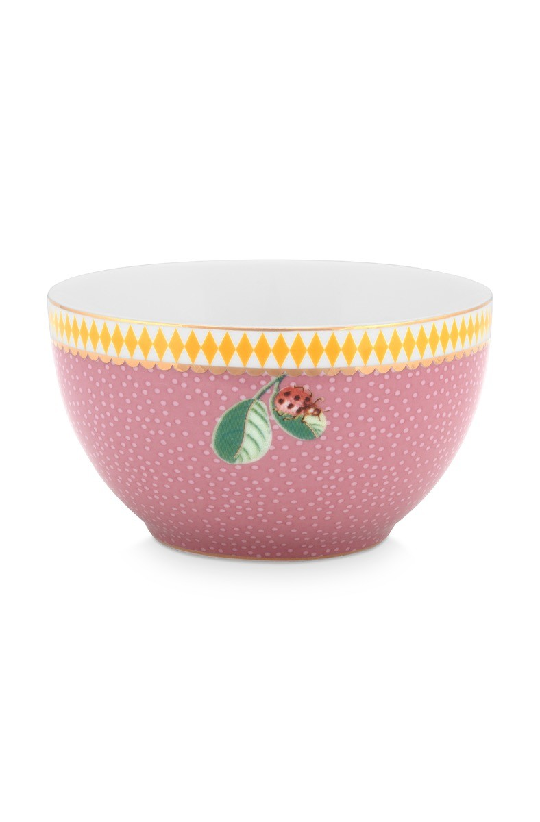 Color Relation Product La Majorelle Bowl Pink 9.5 cm