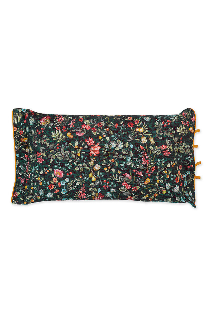Color Relation Product Cushion Rectangle Midnight Garden Green