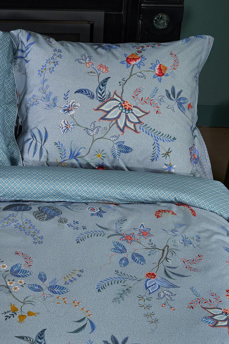 Color Relation Product Pillowcase Flower Festival Blue