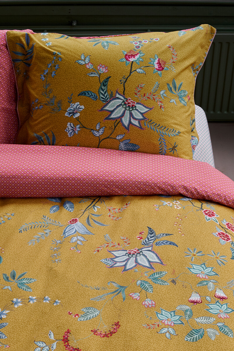 Color Relation Product Pillowcase Flower Festival Yellow