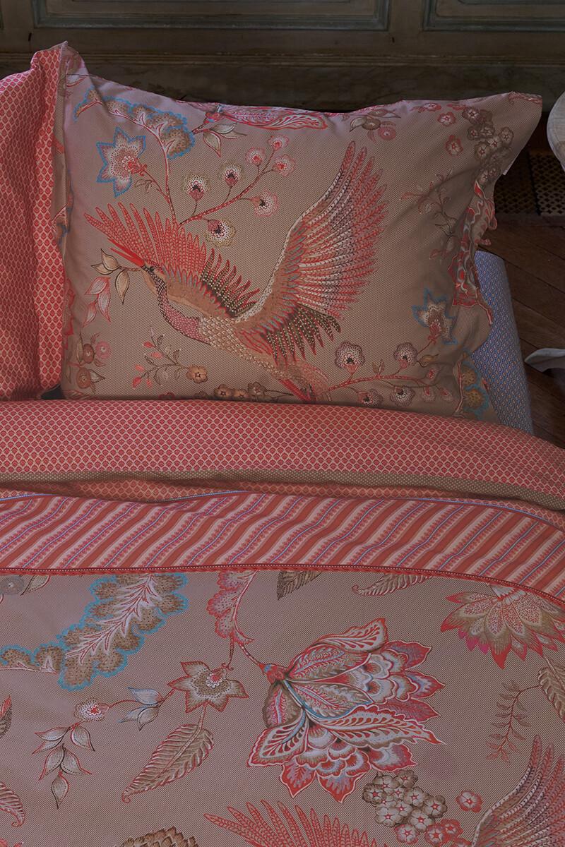 Color Relation Product Pillowcase Royal Birds Khaki